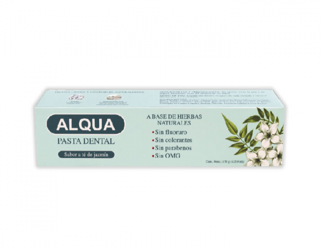 Alqua PASTA DENTAL  Hierbas Naturales